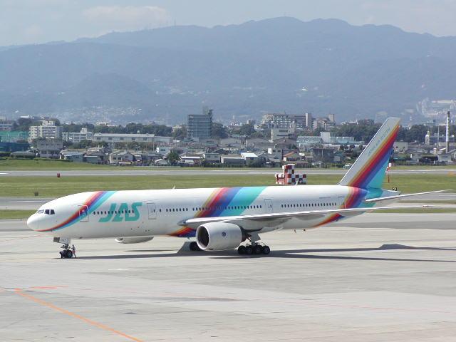JAS Re:KLMとの国内コードシェア開始…JASの新施策に注目 投稿者--... 【検証:】