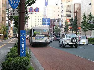 道路の広さも印象的、ただ広域的機能の程は?