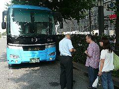 旅の散策バス
